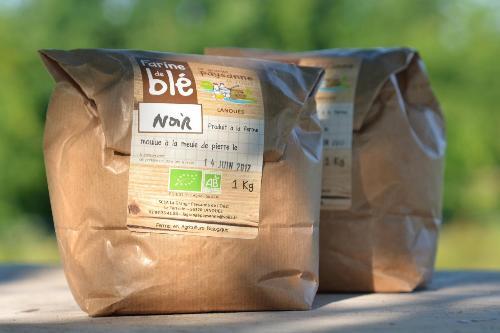 Farine de blé noir (sarrasin) 5 Kg