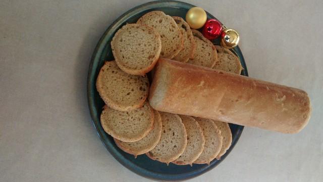 Pain toast noix