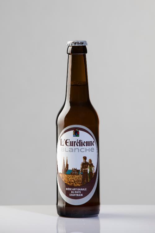 Bière L'Eurélienne BLANCHE 33cl