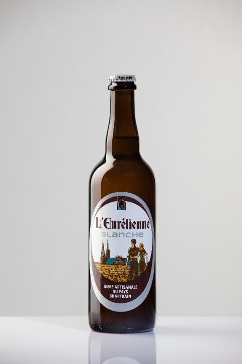 Bière L'Eurélienne BLANCHE 75cl