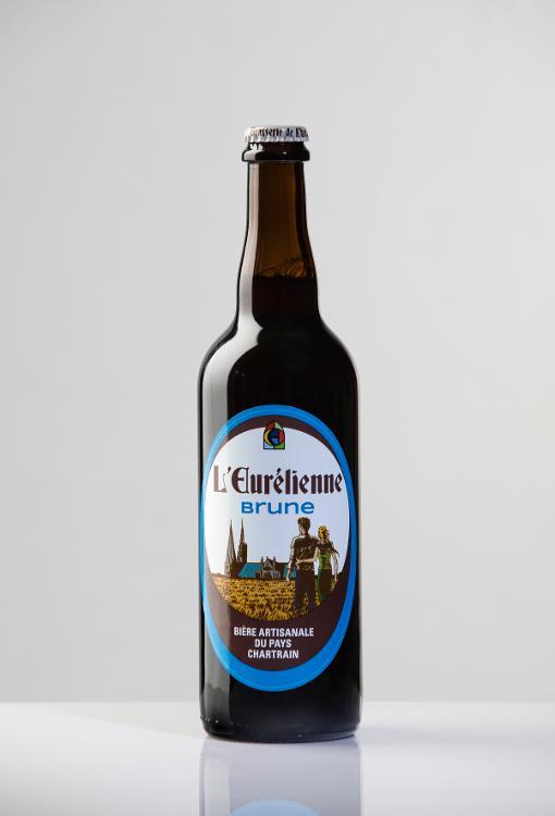 Bière L'Eurélienne BRUNE 75cl