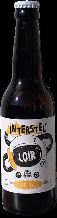 Bière Blonde Interstel'Loir  4,3°