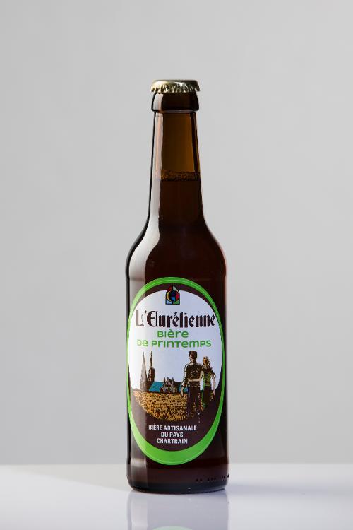 Bière de PRINTEMPS L'Eurélienne 33cl