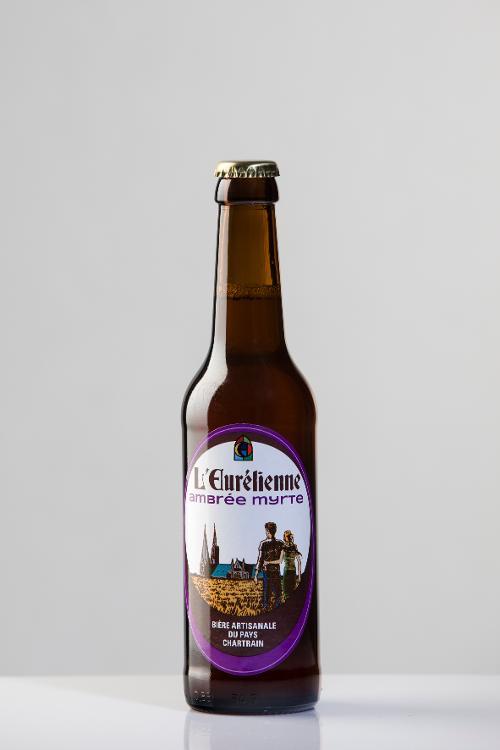 Bière L'Eurélienne AMBREE MYRTE 33cl