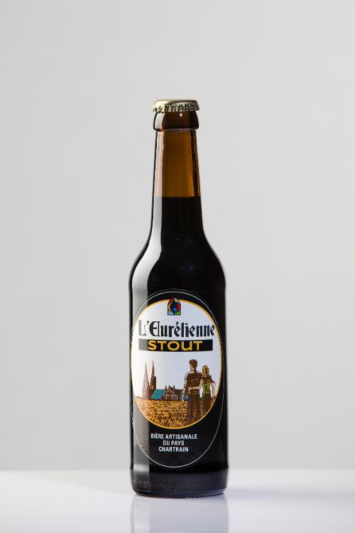 Bière L'Eurélienne STOUT 33cl