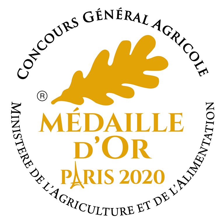 Yaourt nature primé MEDAILLE D'OR au concours général agricole de Paris 2020 !