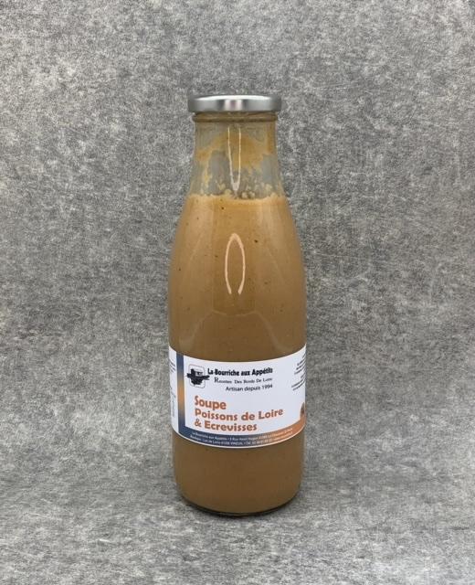 Soupe de Poissons de Loire et Écrevisse 750g