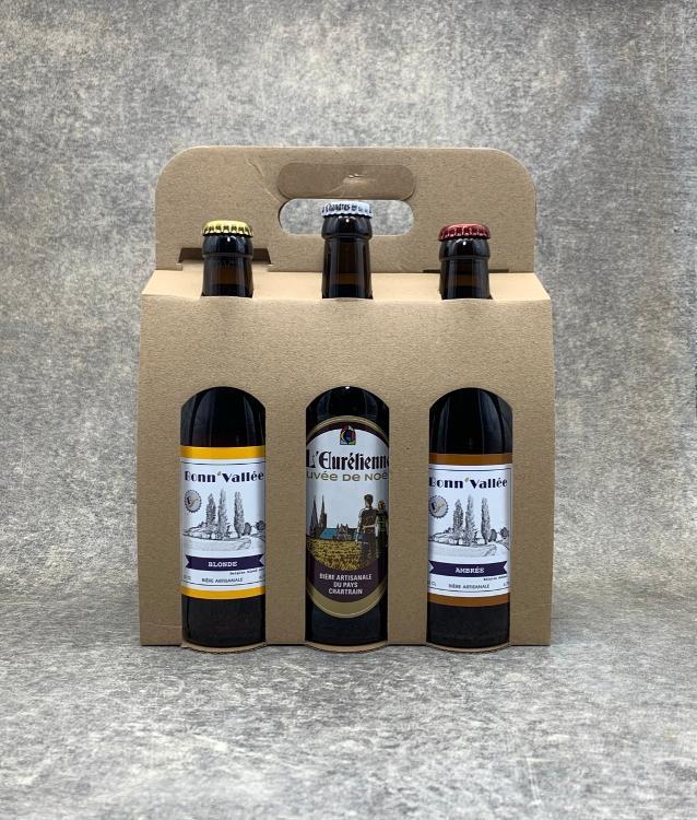 Coffret Découverte 6 bières locales 33cl