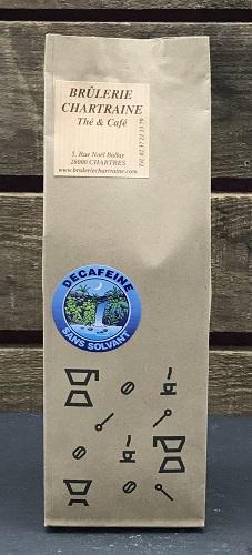 Café décaféiné moulu 250g
