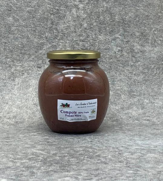 Compote de Pomme-Mûre 100% Fruits 37cl