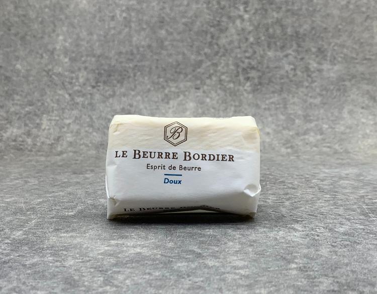 Beurre de baratte Bordier doux 125gr