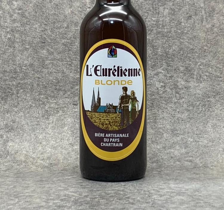 Bière L'Eurélienne Blonde 75cl