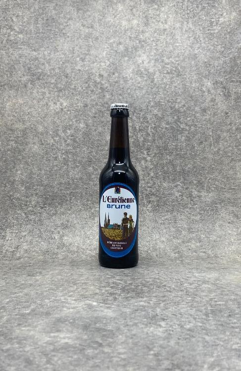 Bière L'Eurélienne Brune 33cl