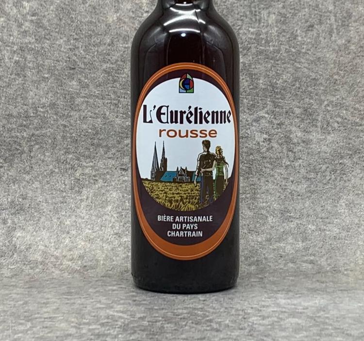 Bière L'Eurélienne Rousse 75cl