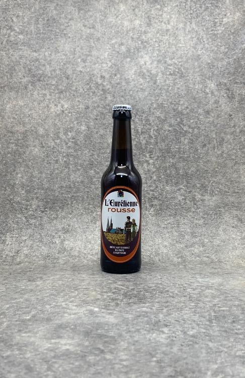 Bière L'Eurélienne Rousse 33cl