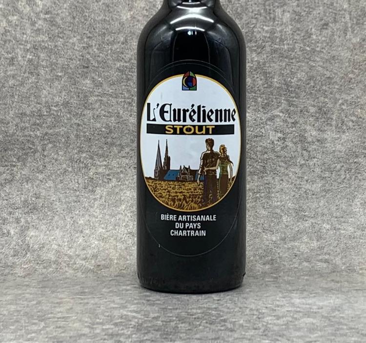 Bière L'Eurélienne Stout 75cl