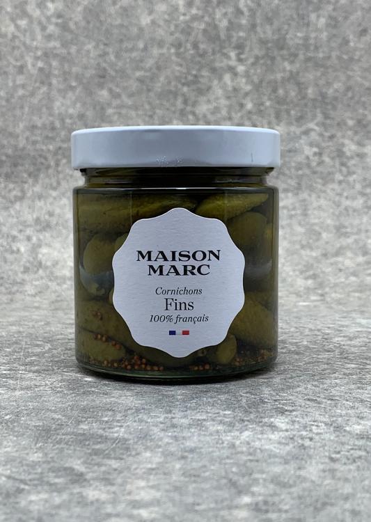 Cornichons Fins Maison Marc 250g
