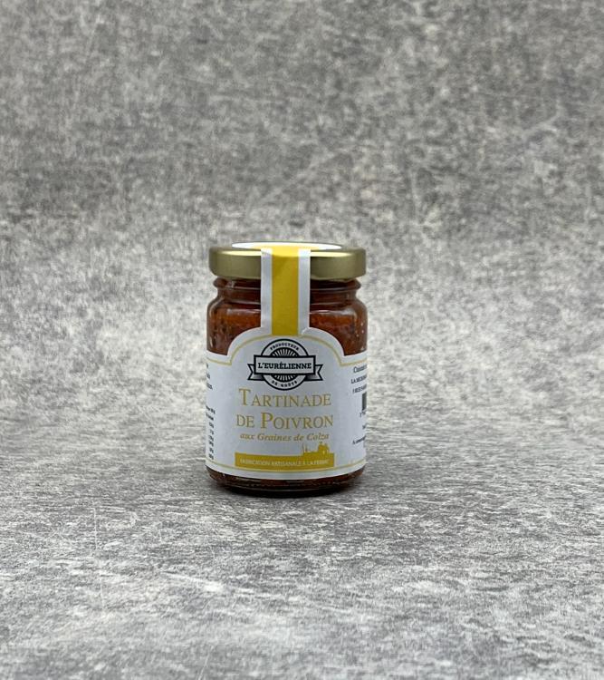 Tartinade de Poivron aux graines de colza 90g