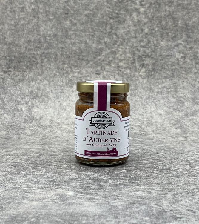 Tartinade d'Aubergine aux graines de colza 90g