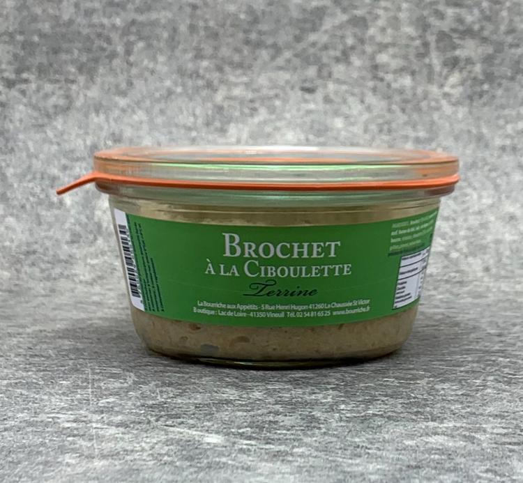 Terrine de Brochet à la Ciboulette 200g