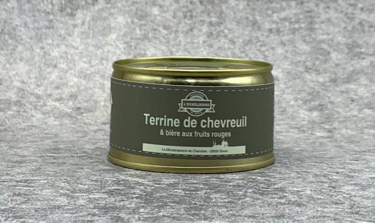 Terrine de Chevreuil 130g