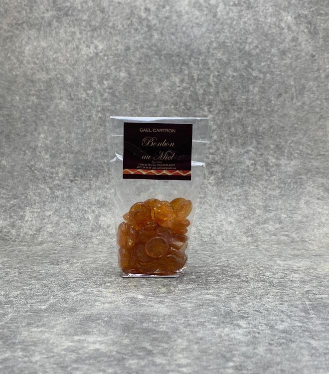 Bonbons artisanaux au Miel Nature 100g