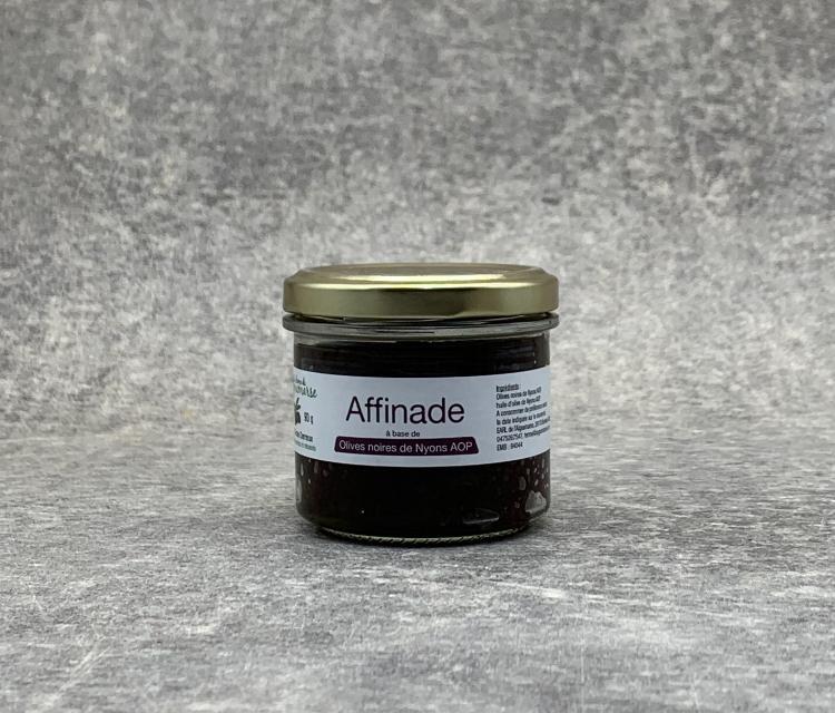 Affinade d'Olives noires de Nyons A.O.P 90g