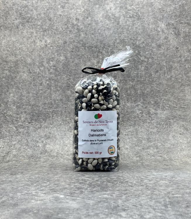 Haricots Dalmatiens en conversion 500g