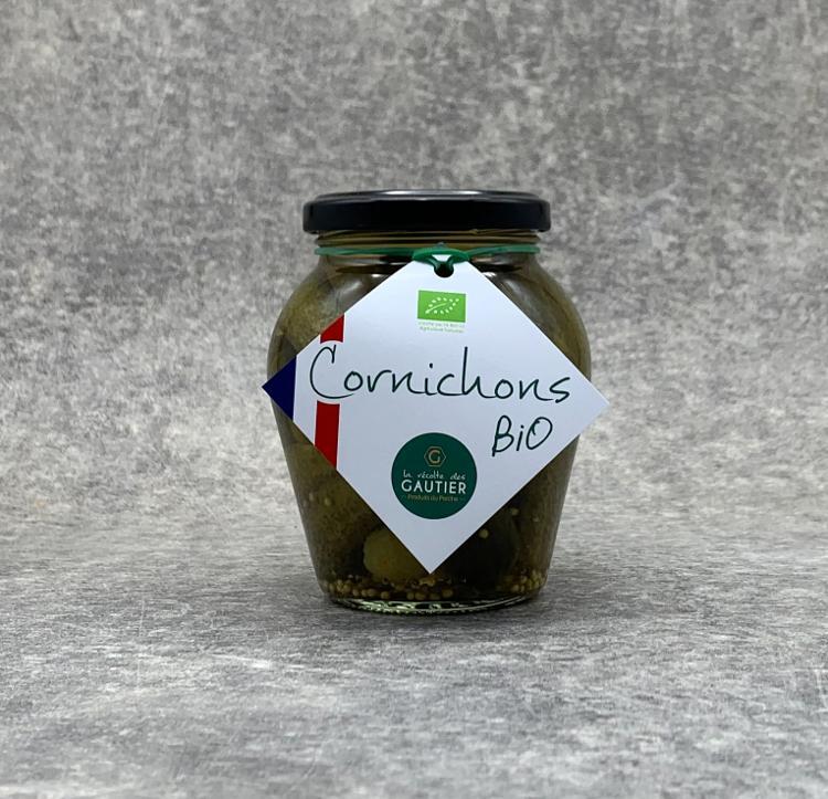 Cornichons Bio 200gr