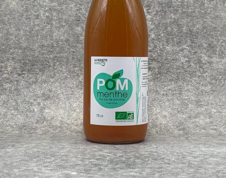 Jus de Pomme-Menthe BIO 75cl