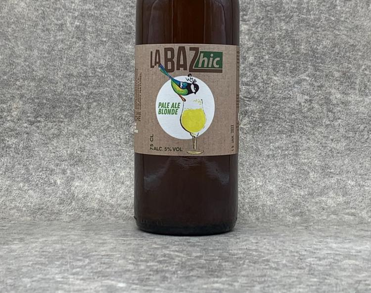 Bière Bio Blonde, La BAZ'hic 75cl