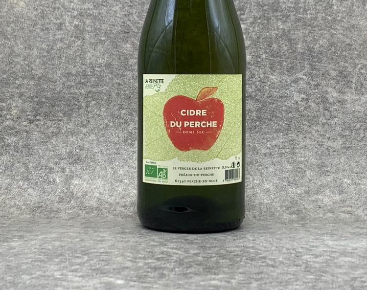 Cidre du Perche demi sec BIO 75cl