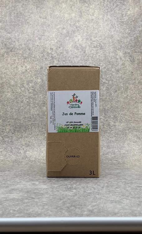 Jus de Pomme cubi 3L
