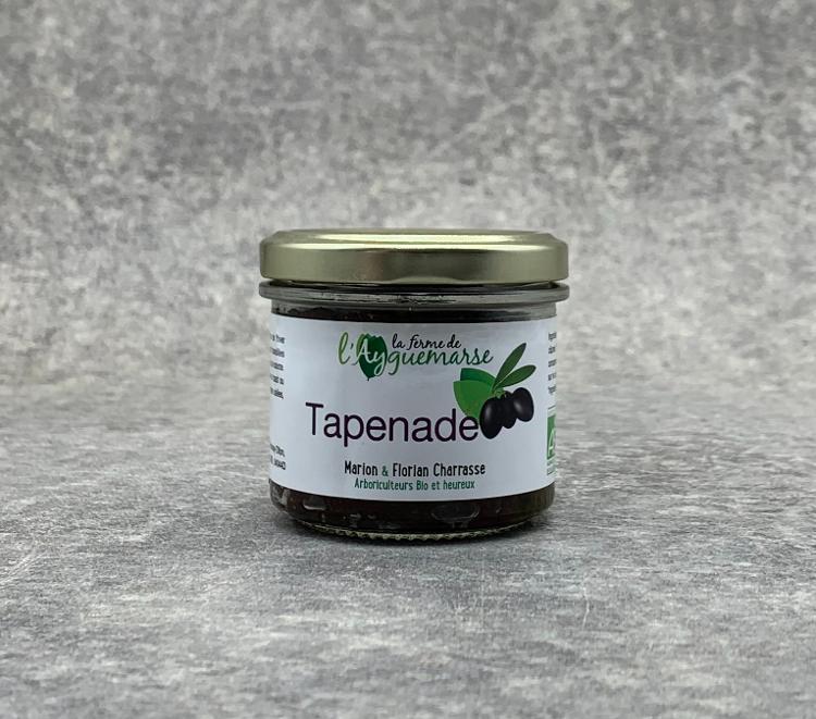 Tapenade d'Olives noires de Nyons BIO A.O.P. 90g