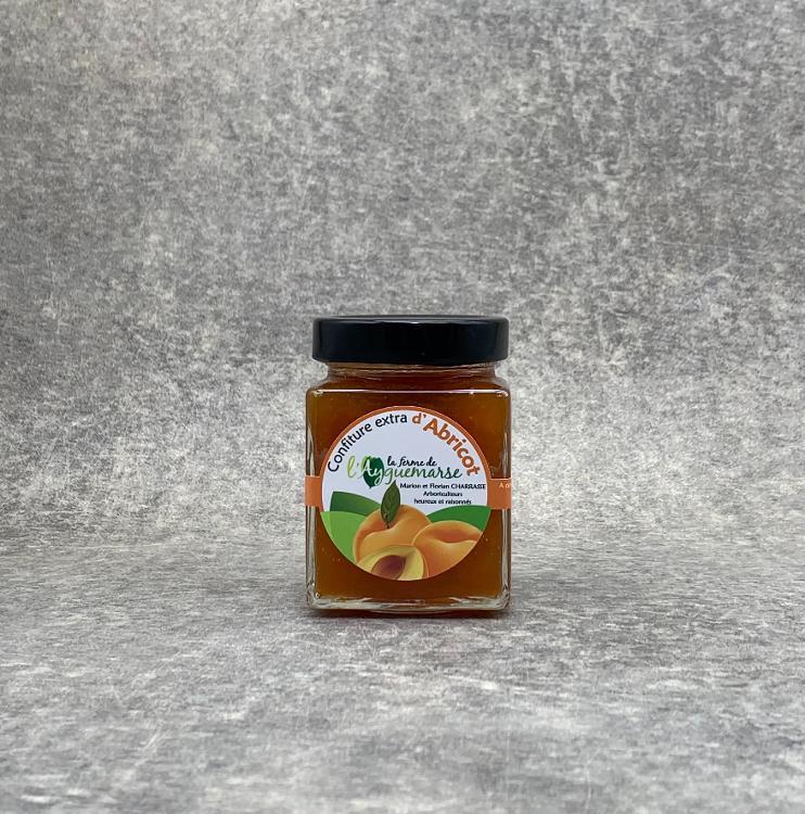 Confiture Extra d'Abricot Bergeron 345g