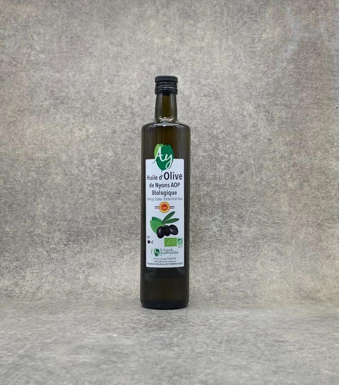 Huile d'Olive de Nyons BIO A.O.P 75cl