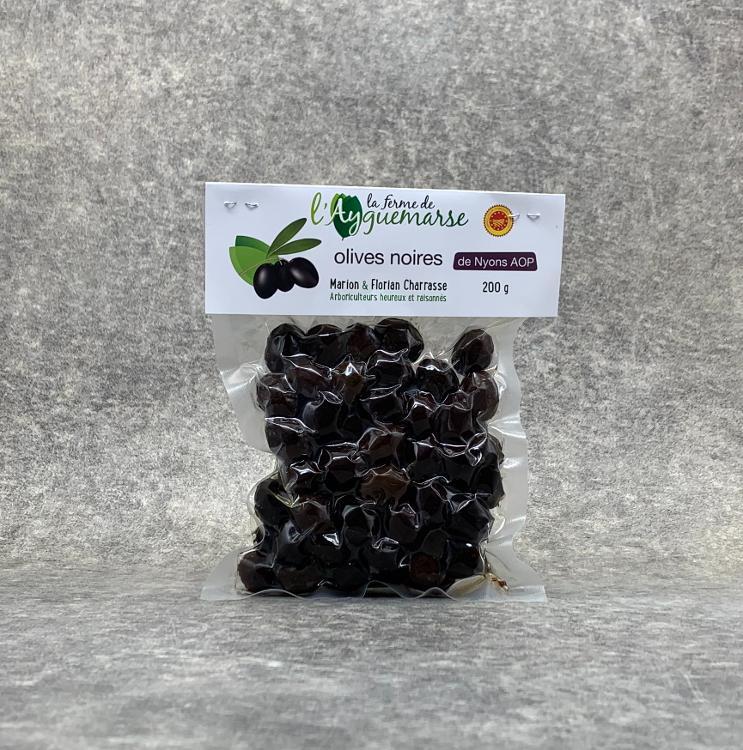 Olives noires de Nyons A.O.P. 200gr