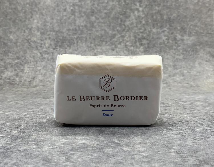 Beurre de baratte Bordier doux 250gr