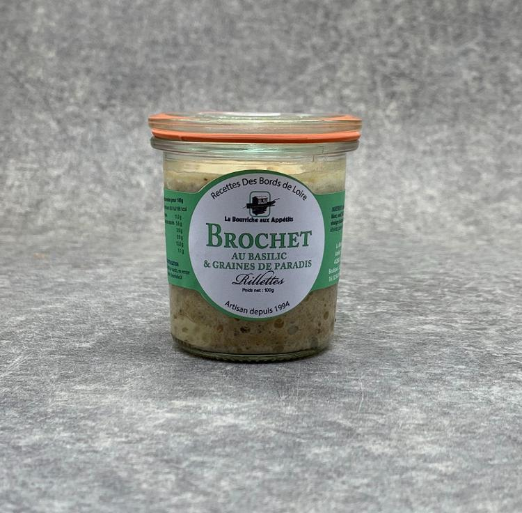 Rillettes de Brochet au Basilic 100g