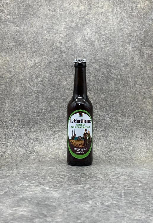 Bière L'Eurélienne de Printemps 33cl