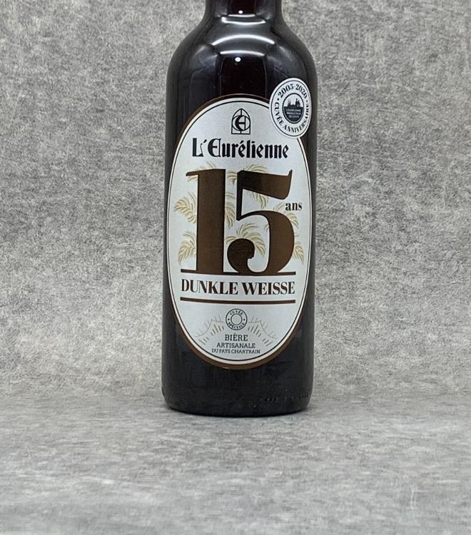 """Bière l'Eurélienne """"15 ans"""" 75cl"""