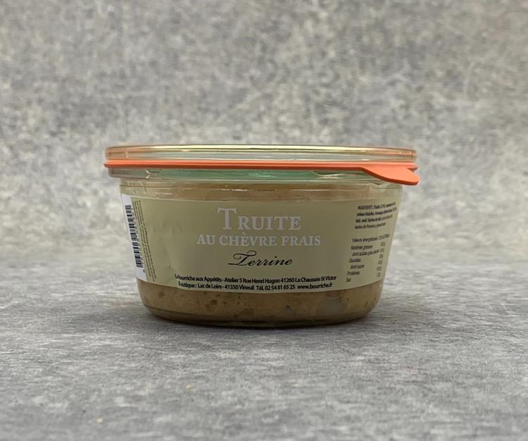 Terrine de Truite au Chèvre frais 200g