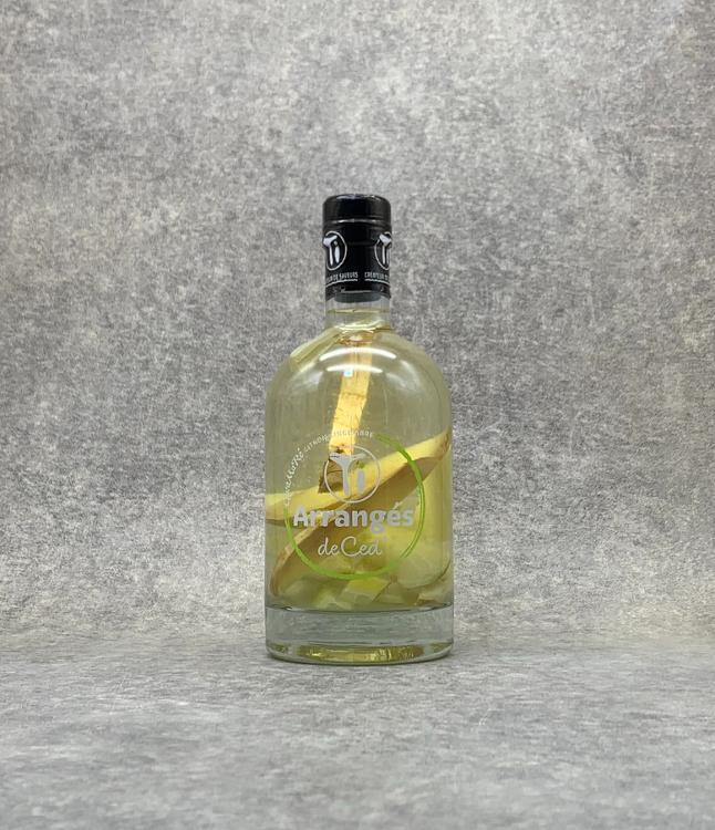 Rhum arrangé Gwamaré Citron Gingembre 70cl