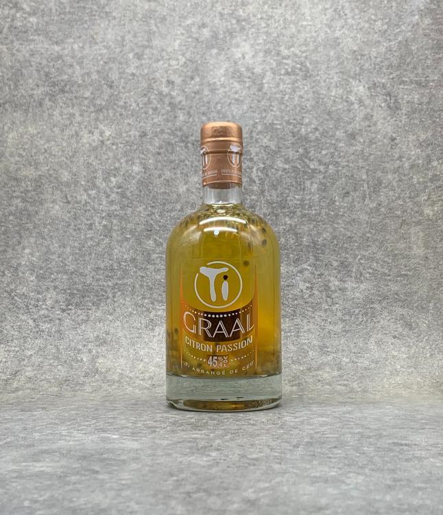 Rhum arrangé GRAAL Citron Passion 70cl