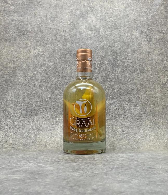 Rhum arrangé GRAAL Mangue Pamplemousse 70cl