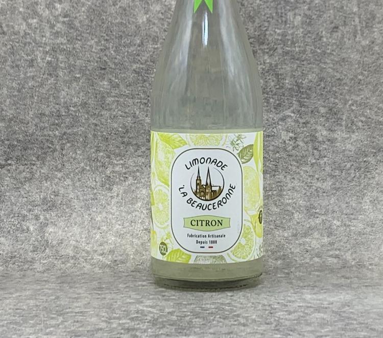 Limonade La Beauceronne BIO Citron 75cl