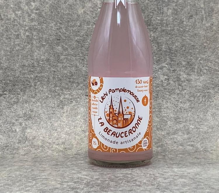 Limonade La Beauceronne Litchi Pamplemousse 75cl