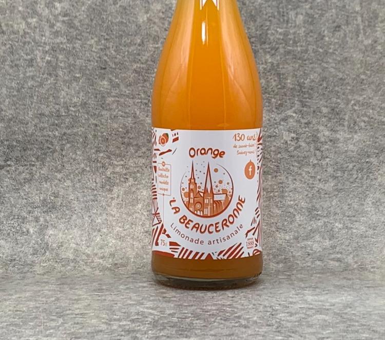 Limonade La Beauceronne Orange 75cl