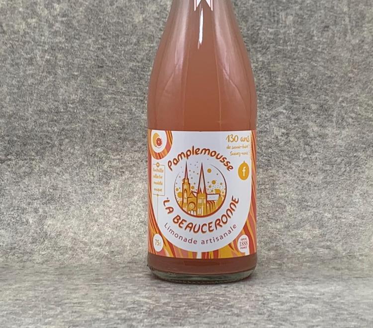 Limonade La Beauceronne Pamplemousse 75cl