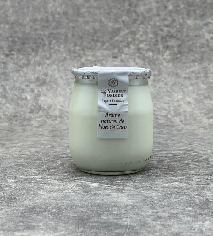 Yaourt Bordier Noix de coco 125gr